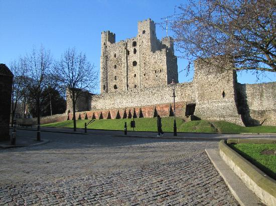 Rochester, UK: View from Below