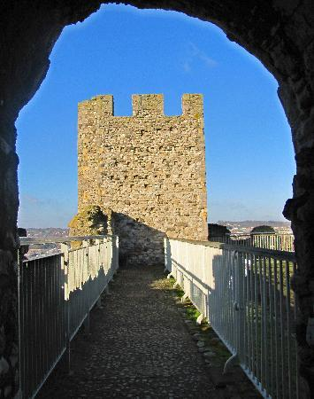 Rochester Castle: View from Inside Looking Out