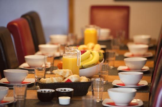 Chalet Christy : Continental breakfast
