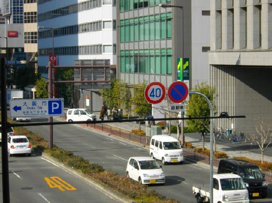 Via Inn Shin-Osaka West : 目標の銀行