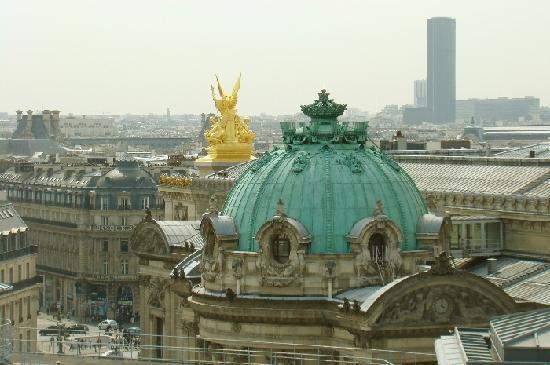 Galeries Lafayette: Zu jeder Jahreszeit eine Traumaussicht