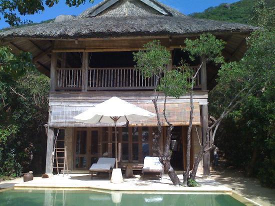 Six Senses Ninh Van Bay : le seul jour de beau temps