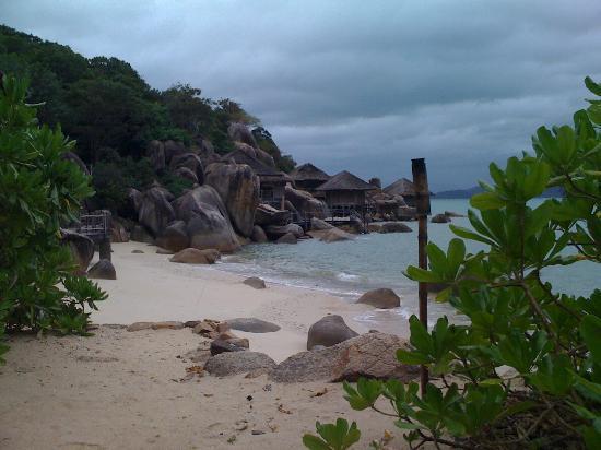 Six Senses Ninh Van Bay: grisaille et pluie