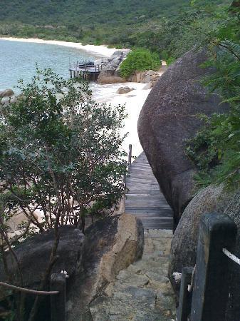 Six Senses Ninh Van Bay : grisaille et pluie