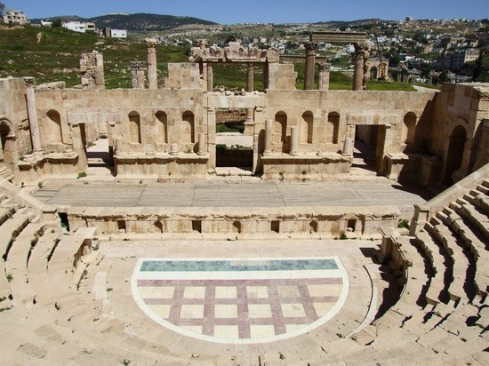 Джераш, Иордания: The Northern Roman Theater at Jerash