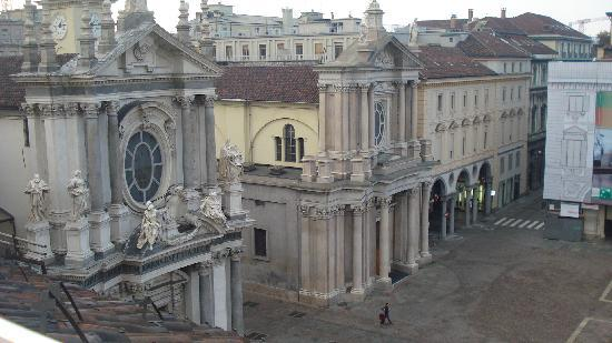 Hotel San Carlo: view from window 1