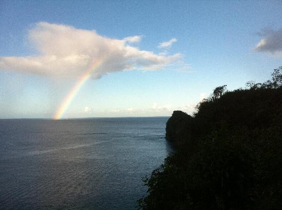 Le Gallerie: Rainbow on the Water