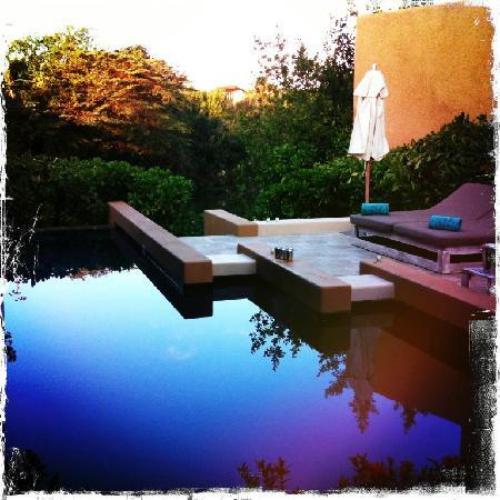 Banyan Tree Mayakoba: courtyard villa pool