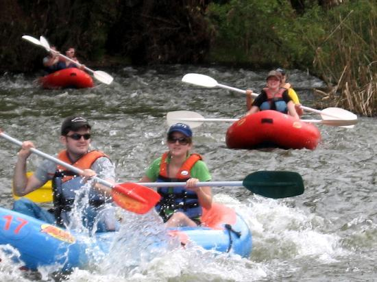 River rafting on the breede river with rafting Route 62