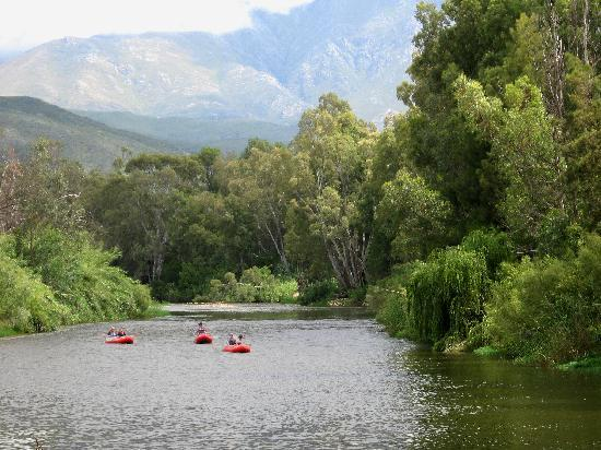 Amazing scenery while river rafting with Rafting Route 62