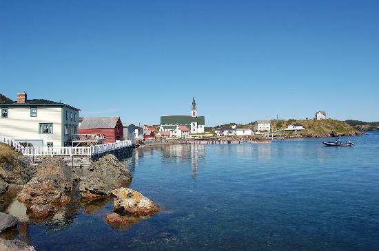 Port Rexton, Kanada: alter Hafen von Trinity
