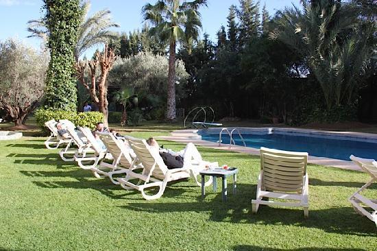 Villa des Trois Golfs: Piscine