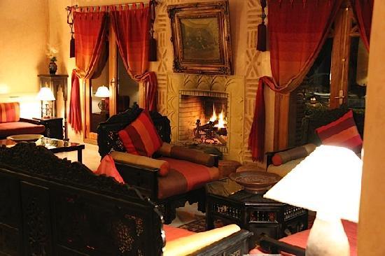 Villa des Trois Golfs: Un des salons