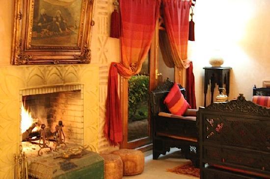 Villa des Trois Golfs: salon