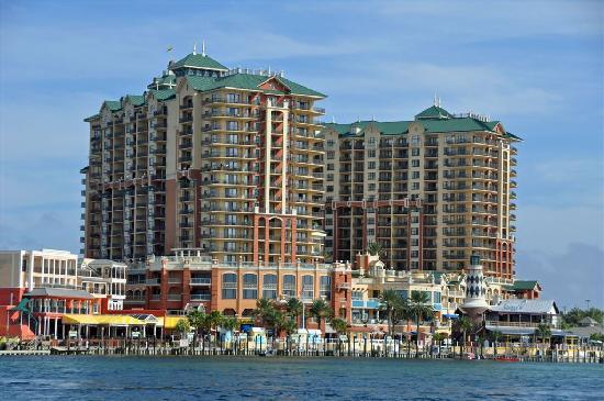 Extraordinary Emerald Grande On The Destin Harbor Overlooking Gulf Of Mexico In Nw Fl Picture Of Emerald Grande At Harborwalk Village Destin Tripadvisor