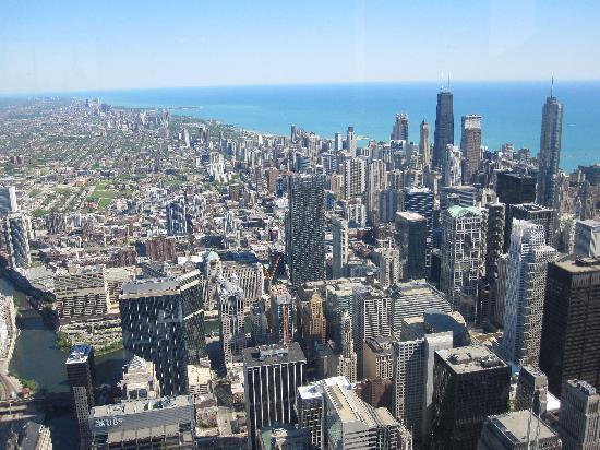 Chicago, IL: blick vom willis tower