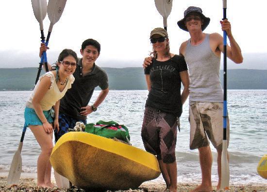 Tranquillity Island Resort & Dive Base: Kayaking