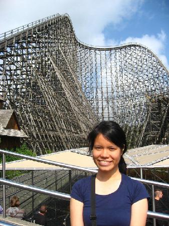 Heide Park: Colloseum Roller Coaster