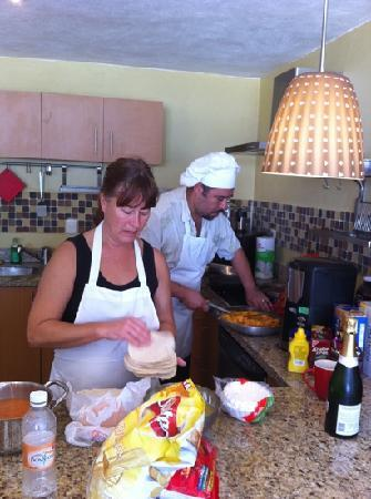 Epicurean Chef Services : Carlos & Tani cookin' up the goods!