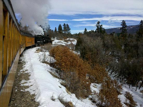 Durango Hometown Hostel: The Durango and Silverton Railway is an awesome day trip from Durango.