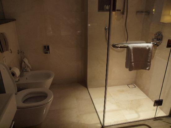 InterContinental Amman: シャワーブースとバスタブは別になっています