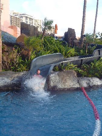 Sheraton Waikiki: Water slide