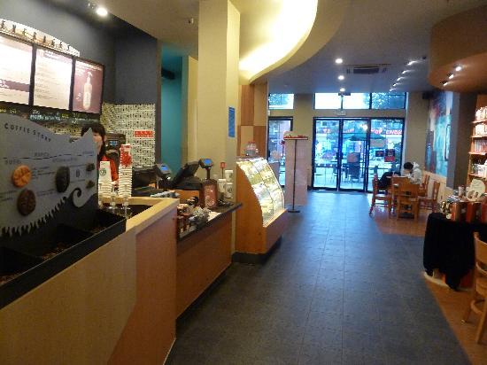 Lao MaTou YiHao: Starbucks innen