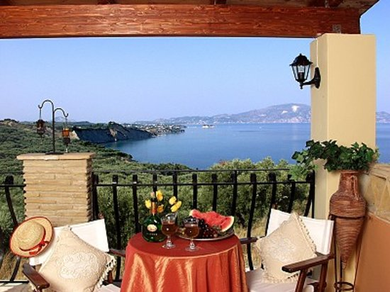 Athenea Villas: View  from the  house