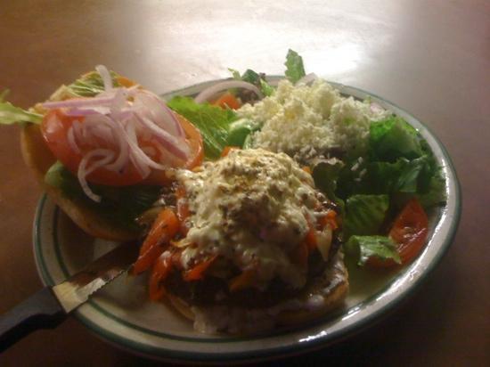 Bakkhus taverna: Olympus Burger