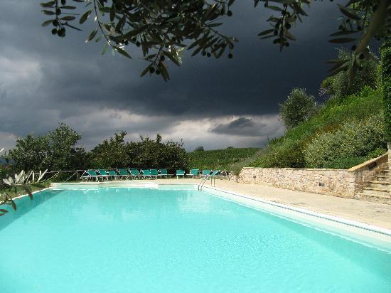 Le Fonti a San Giorgio: Gewitterstimmung in der Toskana