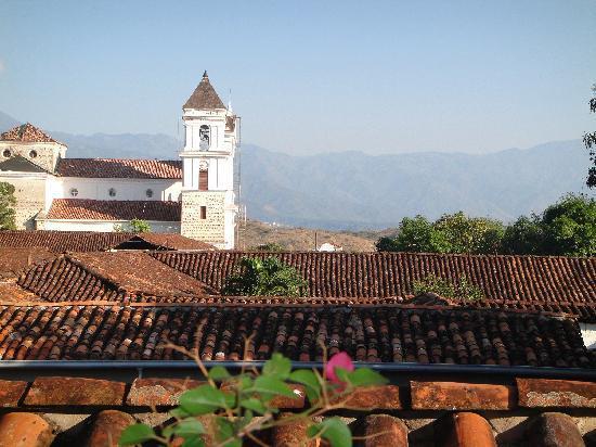 Hotel Mariscal Robledo: Vista desde las habitaciones del hotel.