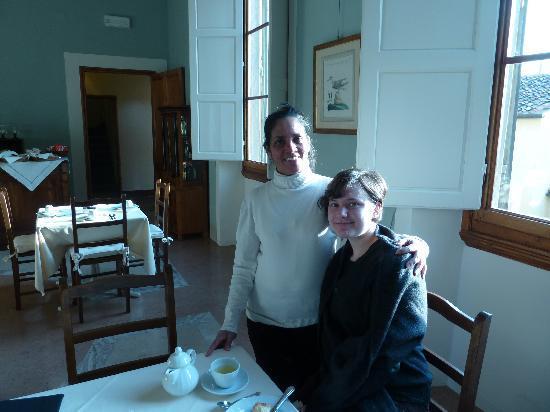 بالاتسو جودانيي: Rita, a wonderful member of the hotel staff