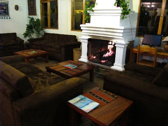 Cafe Pachamama : If you're not hungry, enjoy a drink from our full bar in our fireplace lounge.