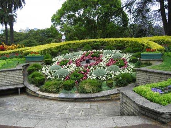 Albert Park: Blumenbeet