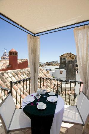 Hotel Claude Marbella: Terrace