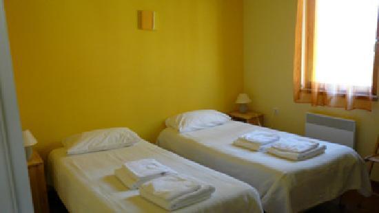 Ariege Azimuth : chambre avec lits simples