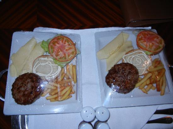 Iberostar Grand Hotel Bavaro: The Burgers of course!