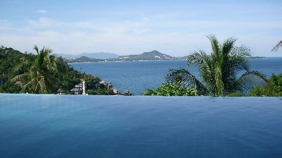 Ban Sua Samui: Ausblick vom Pool