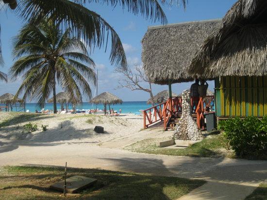 Gran Caribe Villa Tortuga: vue de notre chambre superieur