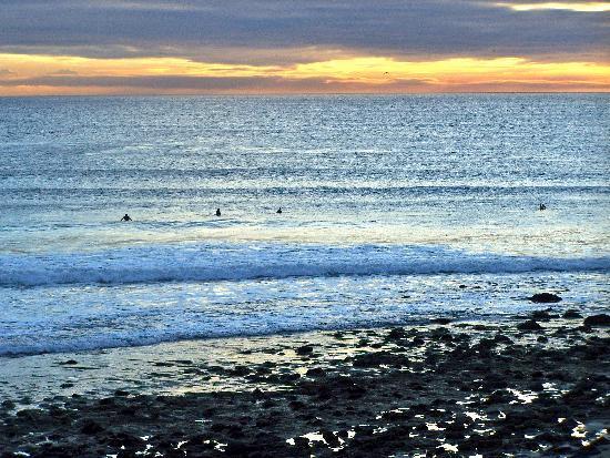 Neptune's Net : Beautiful sunset
