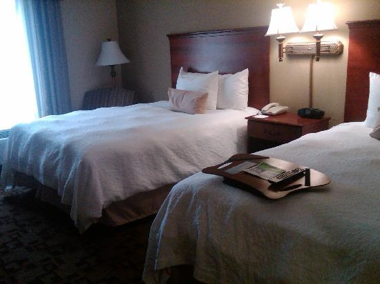 Hampton Inn & Suites Wilson I-95: the cloud beds!