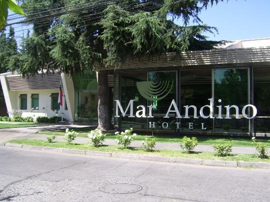 Mar Andino Hotel: Entrance