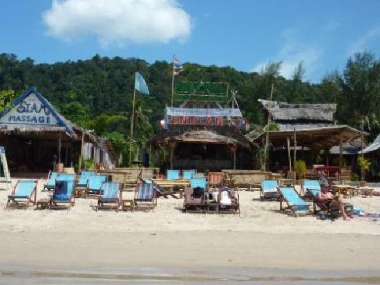 Banana Garden Home: Beach