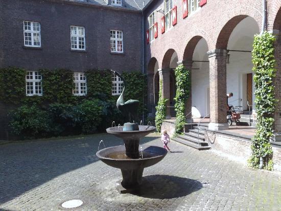 Kleve, Innenhof der Schwanenburg