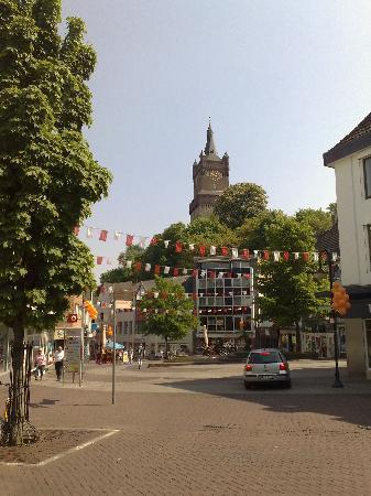 Kleve, ألمانيا: Kleve, Blick zur Schwanenburg