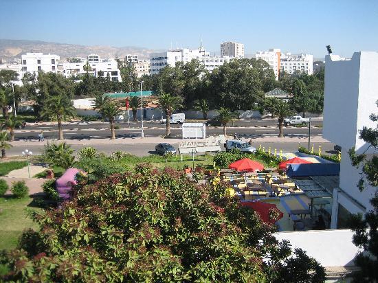 Anezi Tower Hotel: Balkong vy