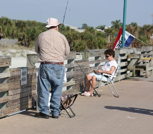 The Venice Florida Fishing Pier Is A Great Place To Enjoy