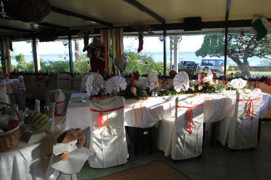 Seaview Lodge: dining area