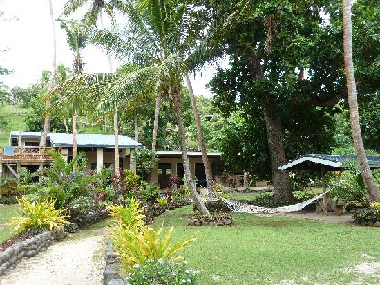 Safari Island Lodge: main building