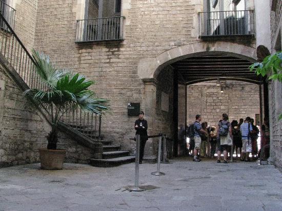 Museu Picasso: 入口